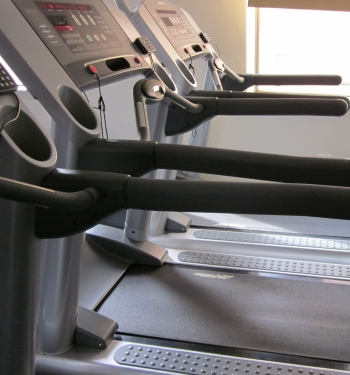 Treadmill used for gait analysis