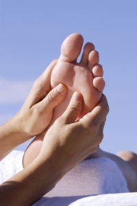 Arch Pain massaged by Podiatrist